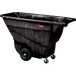 Rubbermaid® Commercial Structural Foam Tilt Truck, 850 lbs. Capaity, Black, Each (RCP 9T14 BLA)