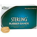 Alliance Ergonomically Correct Boxed Rubber Bands, Size 30, 2 x 1/8, Approx. 1,500, 1 lb. Box (ALL