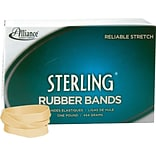 Rubber Band, Sterling , Meets Fed Spec, Soft Stretch, Easy Apply, Excellent Count, USA MADE, #84 (3-