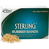 Alliance Sterling™ Rubber Bands, #10, 1 1/4 x 1/16
