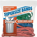 Alliance SuperSize Bands™, Assorted Sizes and Colors, 1/2 lb.