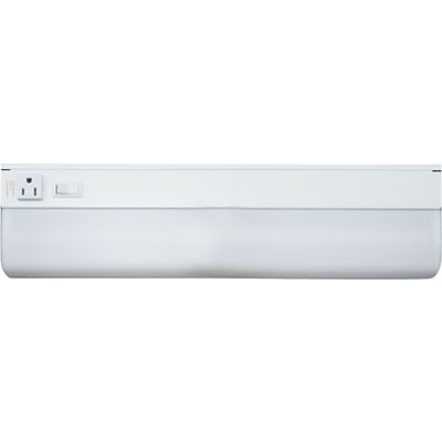 Ledu Low-Profile Fluorescent Under-Cabinet Light Fixtures, 15-Watt ...