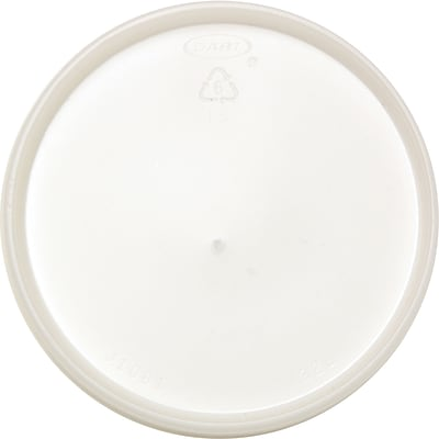Dart® Plastic Vented Lid for DCC32TJ32 Cup; White
