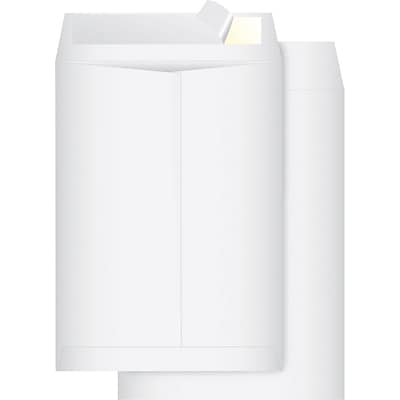 Quill Brand® Tyvek Plain Catalog Envelopes; 10x15, White, 100/Box