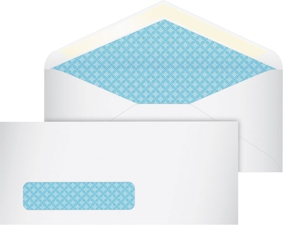 "50 Self-Seal White Envelopes Long Letter Shipping 4-1//2"" x 9-1//2/"" Postal Mailing"