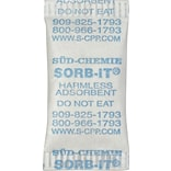 Silica Gel Packet; 5/8 X 1-9/32, 6,000/Case