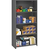 5-Shelf Gray Commercial Steel Shelving