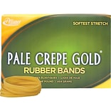 Alliance, Pale Crepe Gold® Rubber Bands, #32 (3 x 1/8), 1 lb. Box