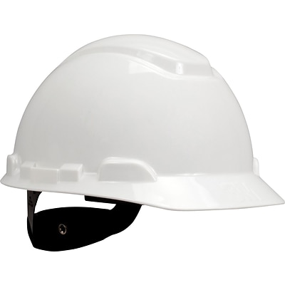 3M™ Hard Hat with UVicator™, 4-Point Ratchet Suspension, White