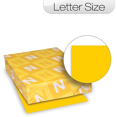AstroBright Color Laser/Inkjet Paper, Gold, 24lb, Letter, 5000/CT