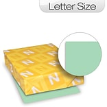 Green Index Card Stock