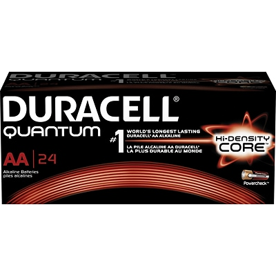 Duracell® Quantum AA Batteries, 24-Pack