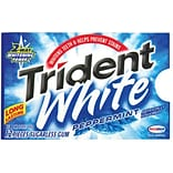 Trident® Peppermint Gum, 9 Packs/Box