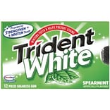 Trident® Spearmint Gum, 9 Packs/Box