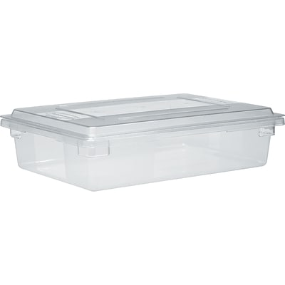 Rubbermaid® Food Storage Container, 8-1/2 Gallon, 6 High, Clear