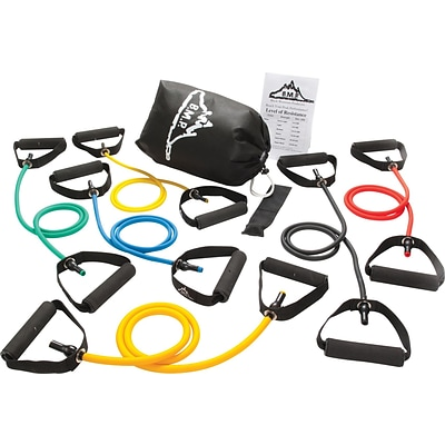 Black Mountain Products® Resistance Bands; Strong Man Set of 6