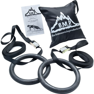 Black Mountain Products® Multi-Use Exercise Gym Rings; 1200lb. Rated