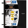 Five Star Flex® Notebook, 5-Subject, College Ruled, Assorted, 8-1/2 x 11