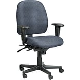 Raynor Eurotech Fabric 4 x 4 Multi-function Task Chair, Ring Sapphire