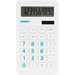Poppin Eco Calculator w/Pool Blue Numbers