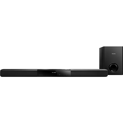 Philips® Refurbished HTL2151/F7B Ultra-Compact Soundbar with Subwoofer