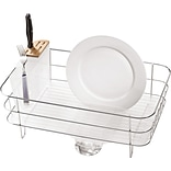 simplehuman® Slim Wire Frame Dishrack, Stainless Steel