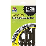 Pacon Self-adhesive Letters, 276, Black