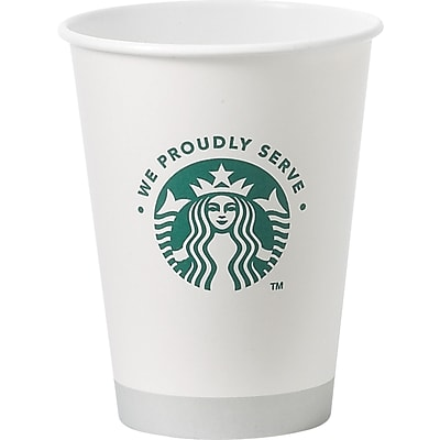 Starbucks® Paper Hot Cups, 12-oz., 1000/Carton