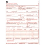 TOPS CMS-1500 Laser Printer Claim Forms 1 Part - 8.50 x 11 Form Size - 500 / Pack