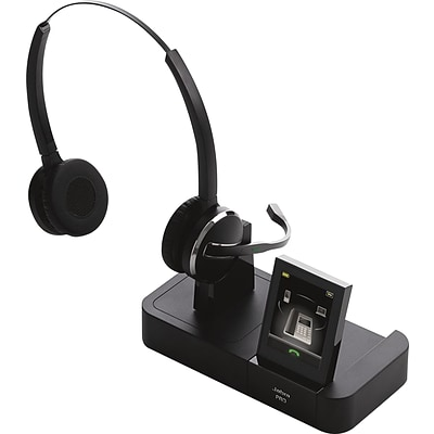 Jabra® Pro 9465 Duo 1.9GHz Wireless Headset with Noise-Canceling Microphone