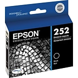 Epson DURABrite Ultra 252 Black Ink Cartridge (T252120-S)