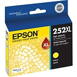 Epson DURABrite Ultra 252XL Yellow Ink Cartridge (T252XL420-S); High Yield