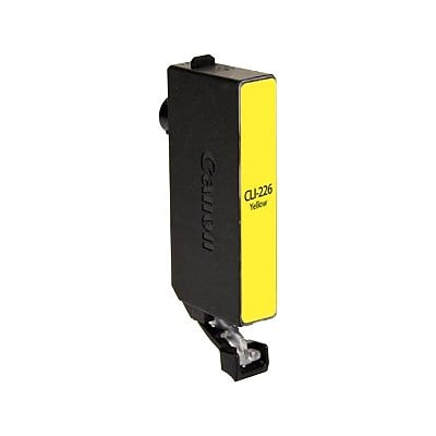 Quill Brand® Remanufactured Inkjet Cartridge, Canon CLI-226 (4549B001), Yellow
