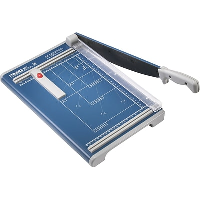 Dahle Professional Guillotine Paper Trimmer, 13.3, Blue (533)