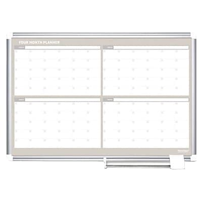 MasterVision 4-Month Planners, 36x24