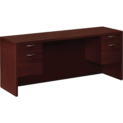 HON® 11500 Series Valido™ Office Collection in Mahogany, Kneespace Credenza