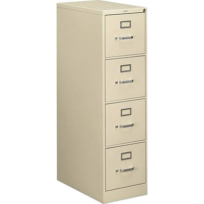 HON 510 Series 4 Drawer Vertical File, Putty/Beige,Letter, 15W (H514PL.COM) NEXT2017