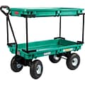 Farm Tuff Plastic 20 x 38 Double Deck  Wagon