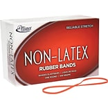 Alliance Orange Non-Latex Rubber Bands, #33 (3 1/2 x 1/8), 1 lb. Box