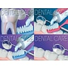 Dental Care Assorted Laser Postcards