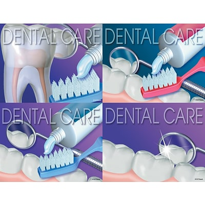 Dental Assorted Laser Postcards, Dental Care