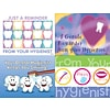 Hygenist Reminder Dental Asst. Lsr Postcards