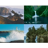 Scenic Water Generic Assorted Lsr Postcards