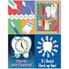 Check-Up Time Dental Assorted Lsr Postcards