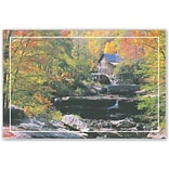 Scenic Laser Postcards; Autumn Color