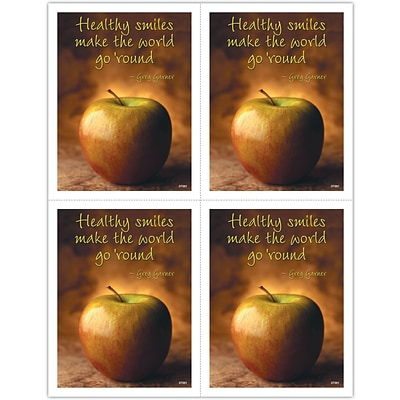Inspirational Laser Postcards; Healthy Smiles