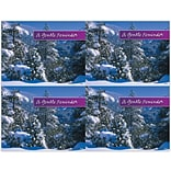 Snowy Trees Generic Laser Postcards