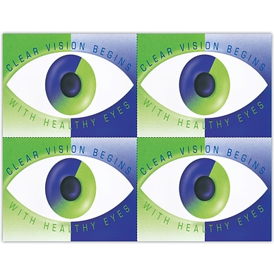 Eye Care Laser Postcards, Modern Eye