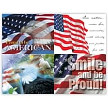 America Generic Assorted Laser Postcards