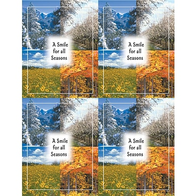 Scenic Laser Postcards; A Smile for all Seasons
